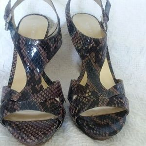 NEW Nine West sandals all leather